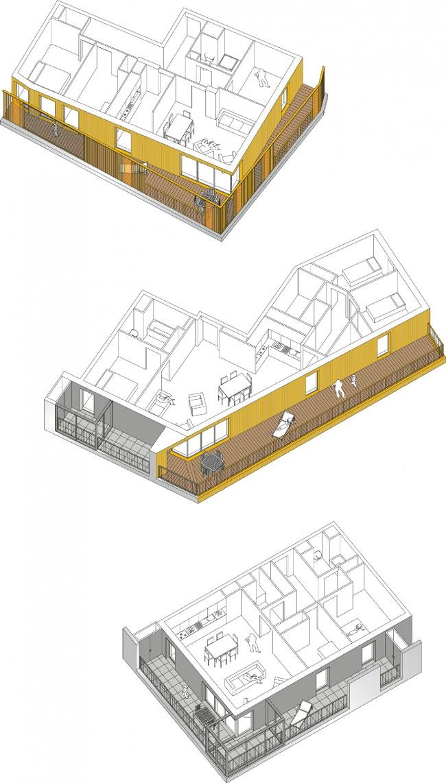 Жилой комплекс Home © Hamonic + Masson & Associés, Comte Vollenweider