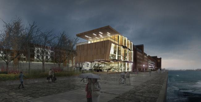 "Library in Copenhagen © ""Arkhitekturium"""