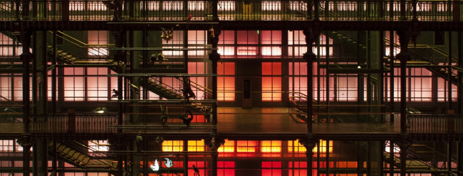 Западная стена Галереи с балконами третьего и четвертого ярусов © Emmanuelle Blanc архитекторы Paul Chemetov Borja Huidobro- ADAGP