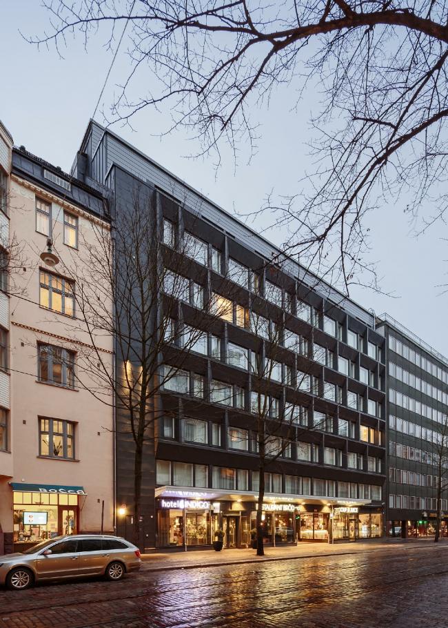 Hotel Indigo Helsinki Boulevard © Tuomas Uusheimo
