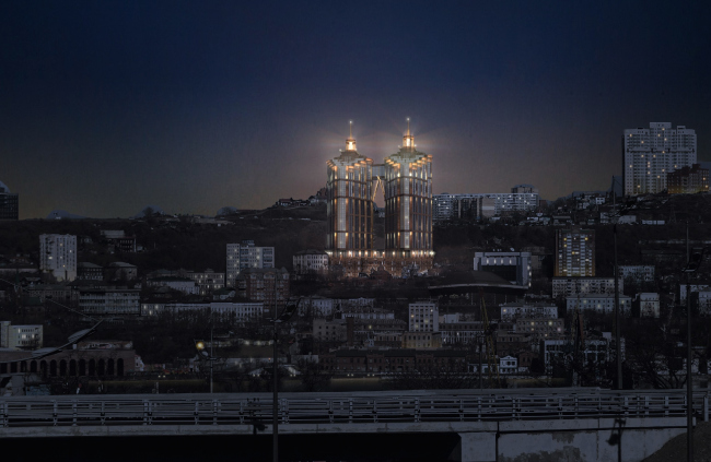 Жилой комплекс «Магнум» в г. Владивосток © ГрандПроектСити