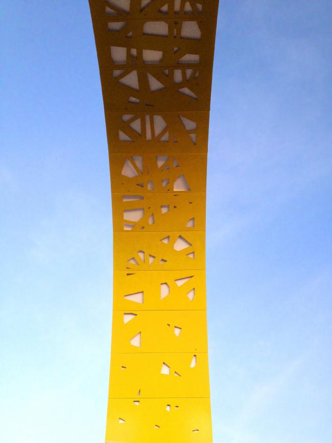 Архитектурно-пространственная композиция «Кольца» на развязке «Адлерское кольцо» в г.Сочи © ГрандПроектСити