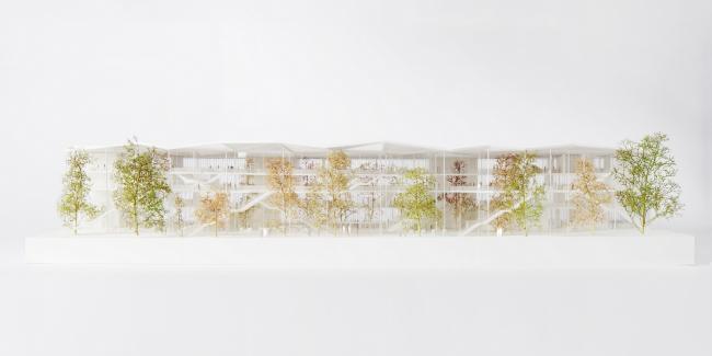 Учебный центр Политехнической школы на кампусе Париж-Сакле © Roberta Donatini
