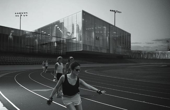 Спортивно-образовательный центр «Академия игровых видов спорта» © ПТАМ Виссарионова