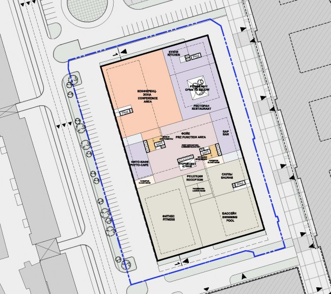 Plan of the second floor © SPEECH