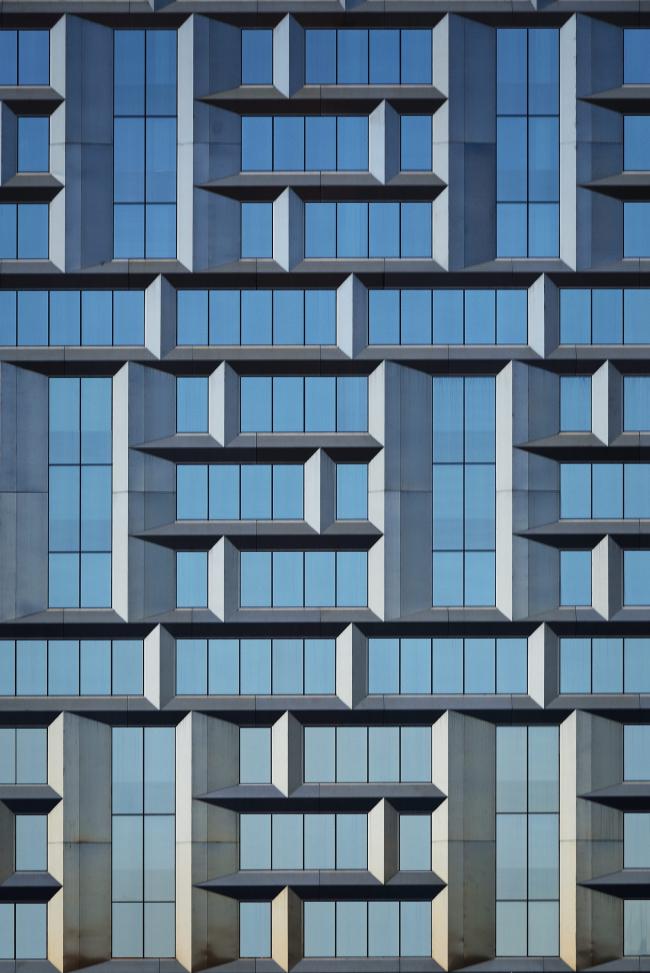 Многофунциональный комплекс President Plaza. Фрагмент фасада © Алексей Народицкий