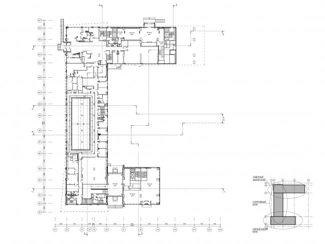 План 1 этажа © ам «Атриум»