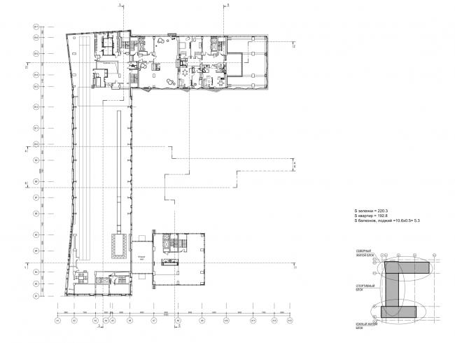 План 2 этажа © ам «Атриум»