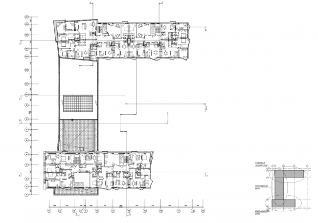 План 5 этажа © ам «Атриум»