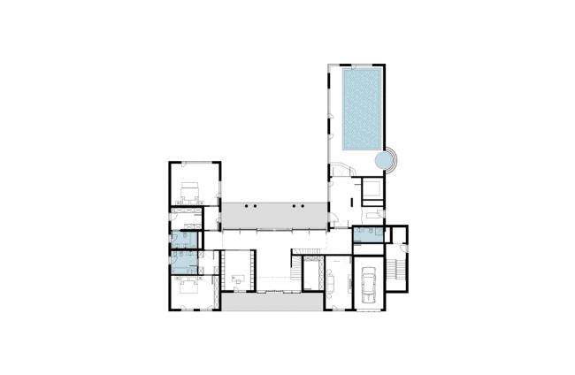 Частный дом в Грюнвальде. План © PANACOM