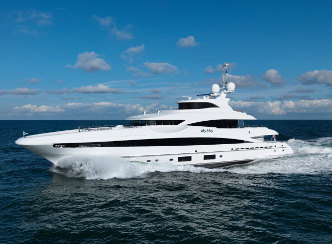 Overview of the yacht © Dick Holthuis