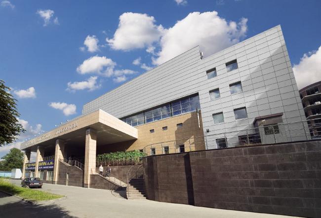 """Platonov Volleyball Academy © """"A.Len"""" Architectural Bureau"""