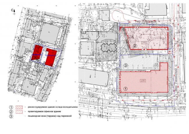 Location plan. Master plan © ABD architects