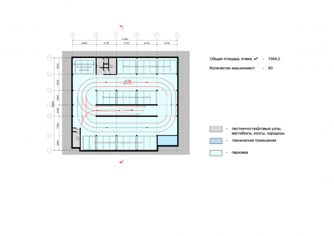 План -1 этажа © ABD architects