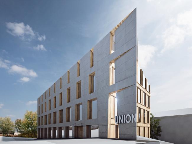 Центр культуры и предпринимательства «Юнион» © ABD architects