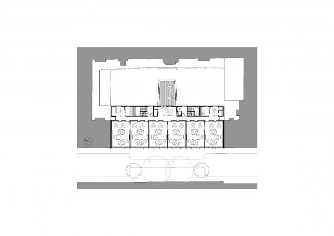 Школа управления на Эмбельгассе © AllesWirdGut Architektur
