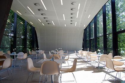 Музей искусств Ордрупгаард. Новое крыло. Кафе