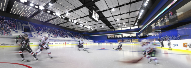 Проект спортивного комплекса СКА
