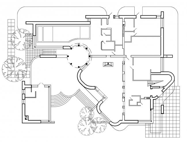 Индивидуальный жилой дом в Самаре © Архитектурное бюро «А.Лен»