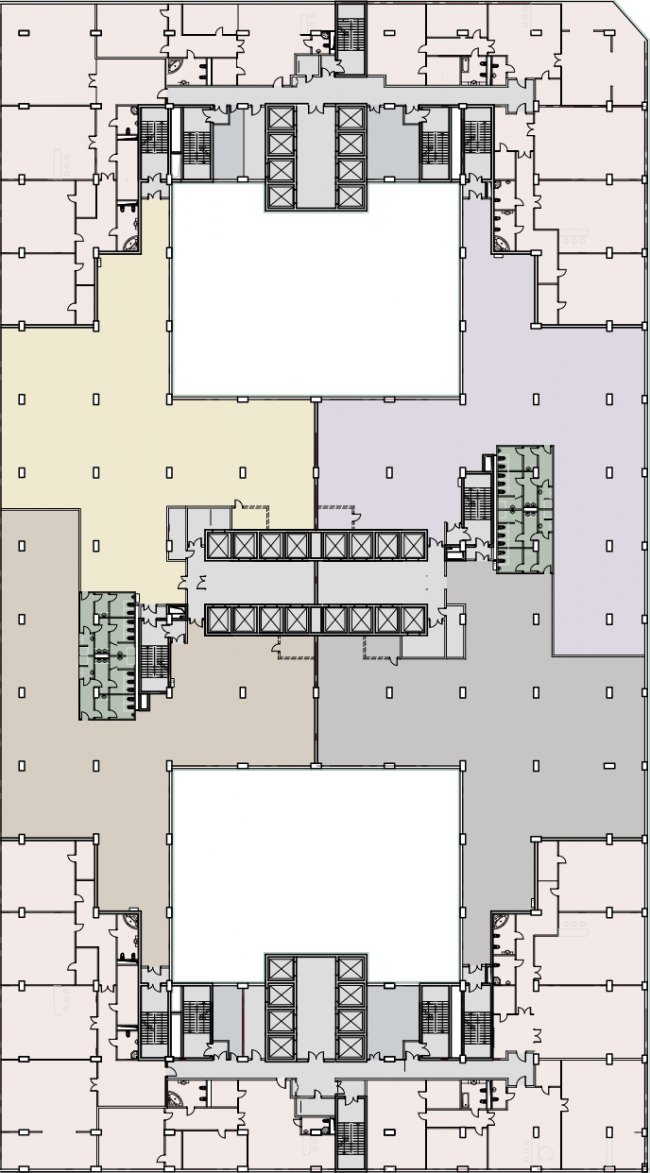 Plan of the typical floor © SPEECH