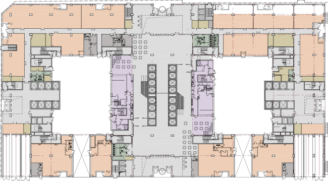 Plan of the first floor © SPEECH