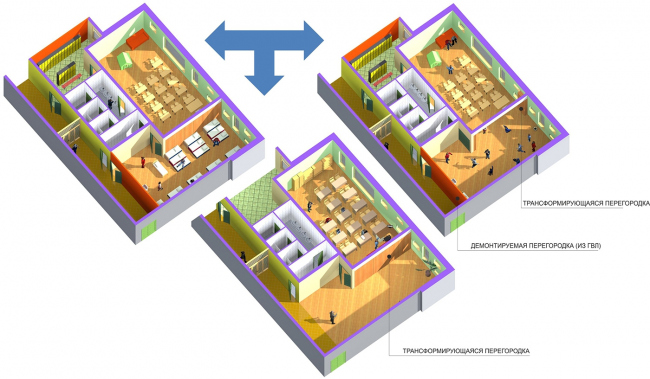 Здание-трансформер. Изображение с сайта stroi.mos.ru