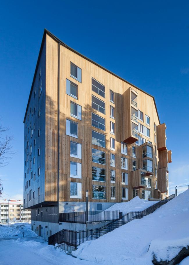 Жилой комплекс Puukuokka © Mikko Auerniitty