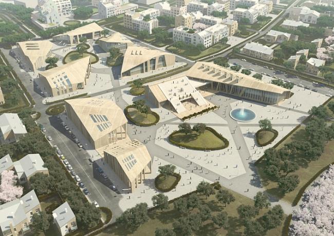 Архитектурно-градостроительная концепция комплексного развития территории в г. Звенигороде © ООО «АМ «АРХИМЕД ПЛЮС»
