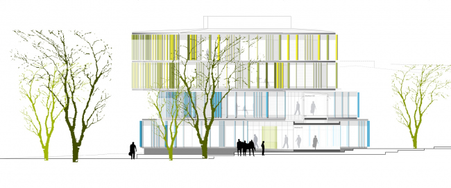 Офисный комплекс Haba II © h4a Gessert + Randecker Architekten