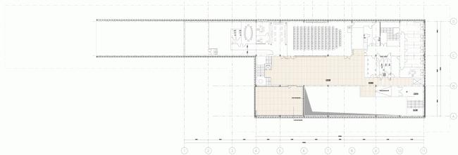 Plan of the second floor. Russian Pavilion at EXPO 2015 in Milan. SPEECH. © SPEECH