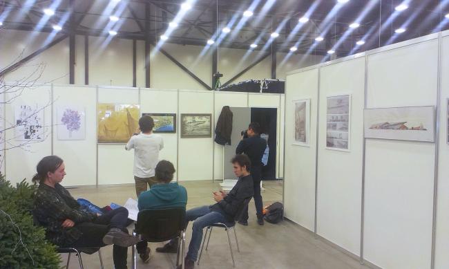 Выставка Архитектурного клуба «Максимализм» в рамках VIII Международного форума градостроительства и архитектуры A.city. Март 2015. Фотография предоставлена редакцией журнала FUTURA