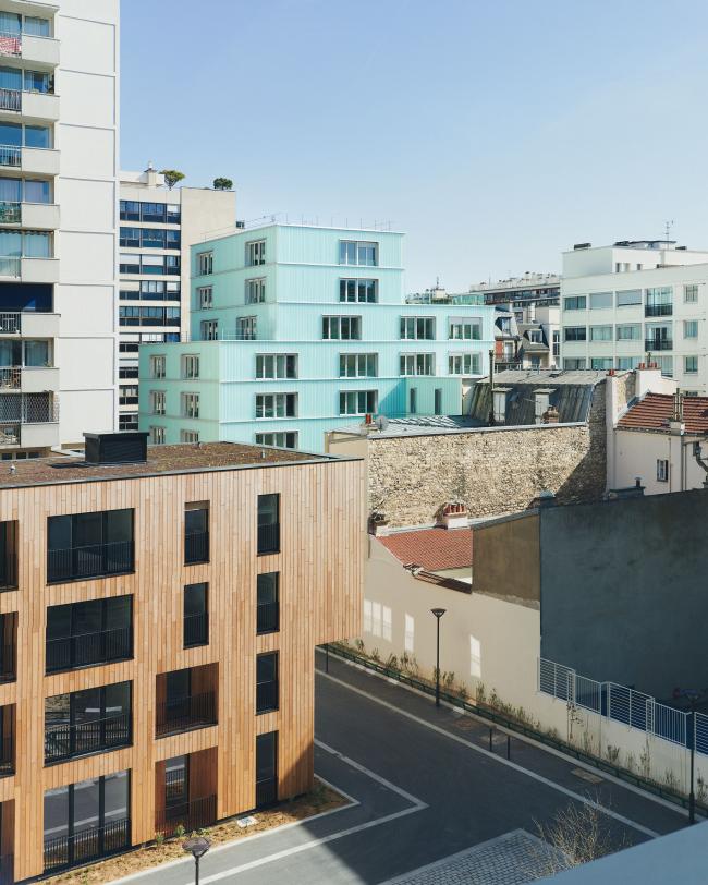 Социальное жилье на улице Лурмель © Julien Lanoo