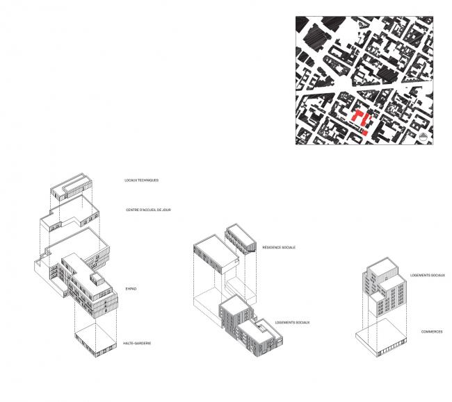 Социальное жилье на улице Лурмель © TVK