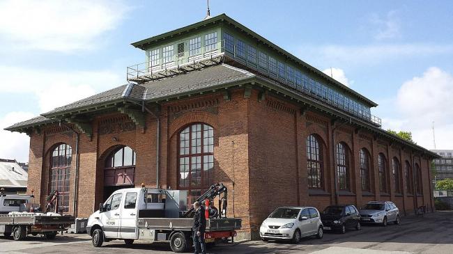 Станция перекачки сточных вод в Копенгагене © C.F. Møller