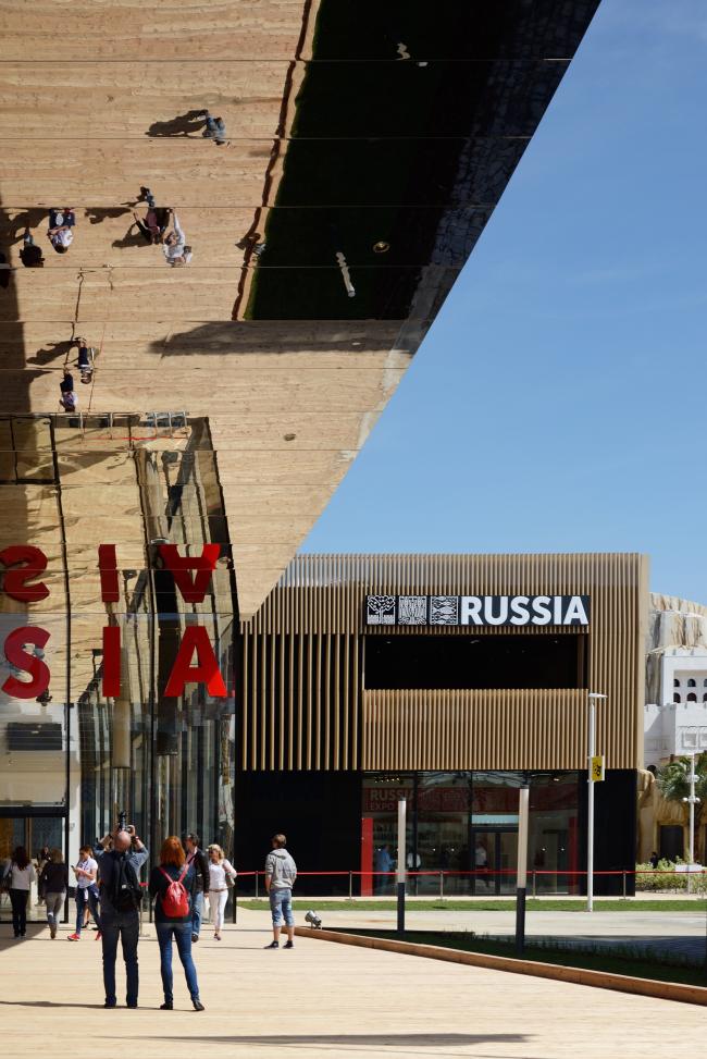 Russian Pavilion at EXPO 2015 in Milan. SPEECH. Photo © Aleksey Naroditsky