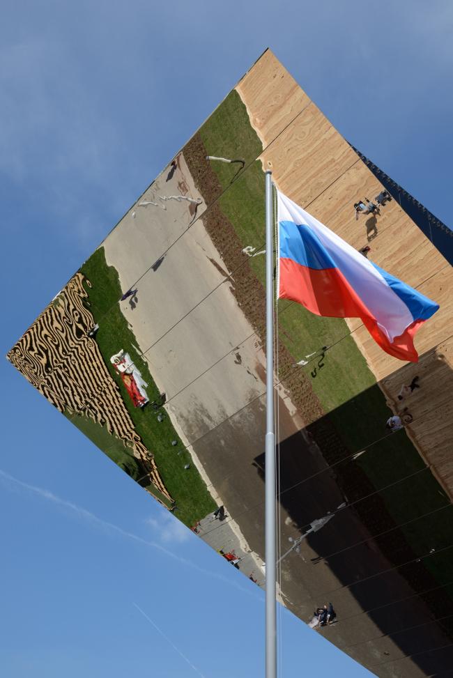Павильон России на ЭКСПО 2015 в Милане. SPEECH. Фотография © Алексей Народицкий