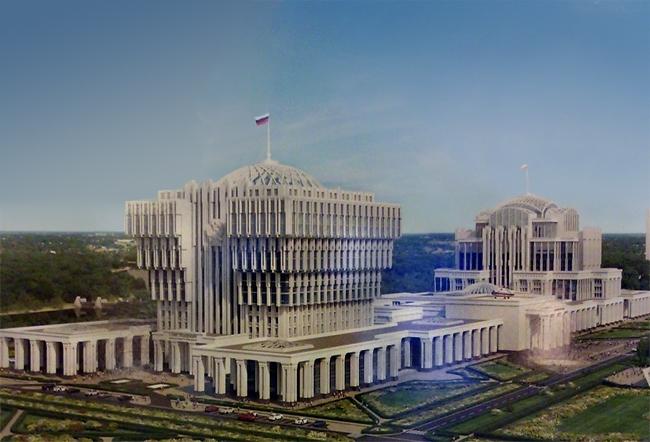 Парламентский центр в Нижних Мневниках. «Моспроект-2»