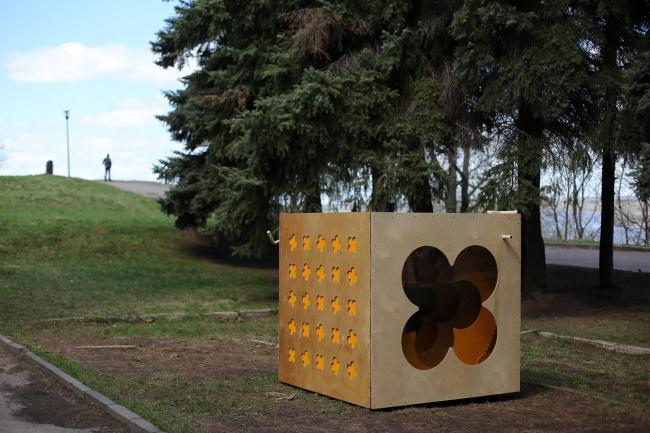 «Цветок в кубе», команда «Глагол», Пенза. Фото: Михаил Солунин