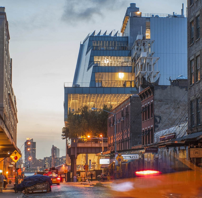 Музей американского искусства Уитни–новое здание © Karin Jobst