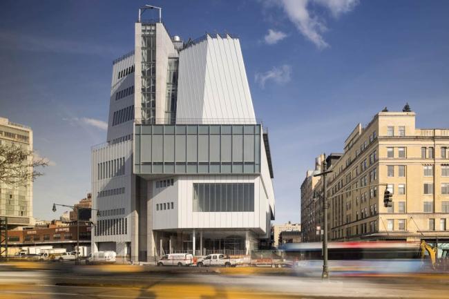 Музей американского искусства Уитни–новое здание. Фото: Nic Lehoux