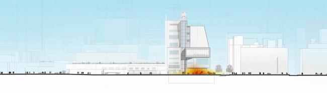 Музей американского искусства Уитни–новое здание © RPBW