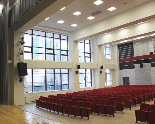 Школа в Загорье. Фотография предоставлена ППФ «Проект-реализация»