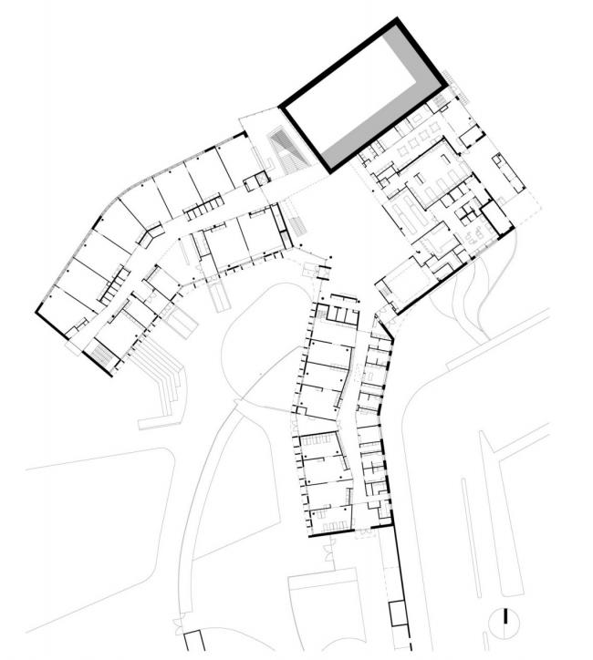 Школа Мортенсбро в Эспо. Изображение: Playa architects