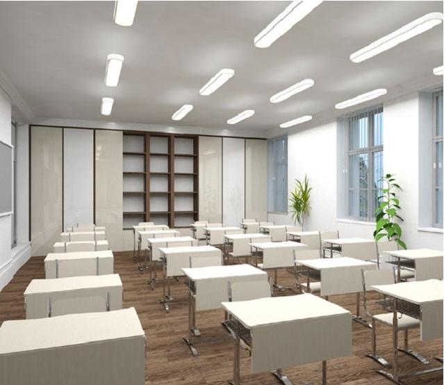 Концепция на основе педагогической модели «Центр знаний». Изображение: Лаборатория дизайна Школы дизайна ВШЭ