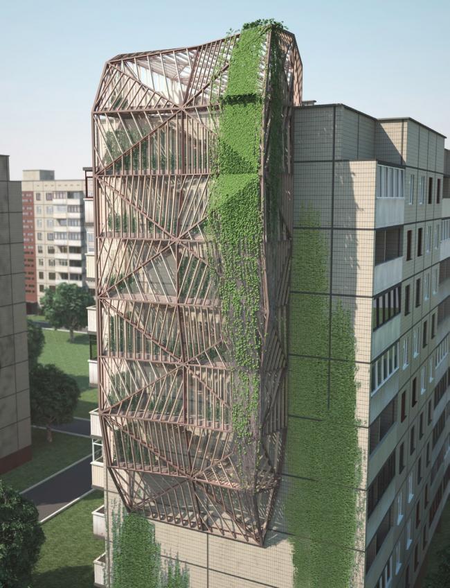 Дмитрий Алексеенко. Вертикальные фермы. Изображение предоставлено автором