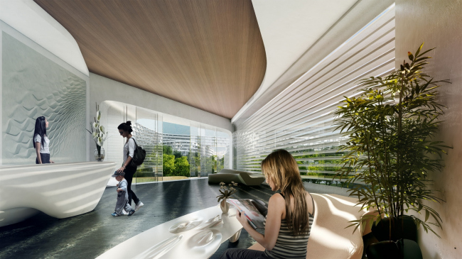 Жилой комплекс Esfera City Center © Zaha Hadid Architects
