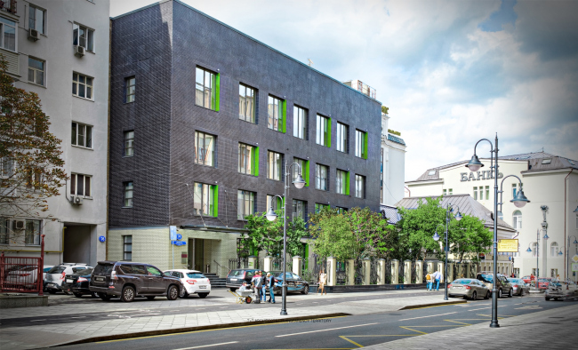 Реновация комплекса административных зданий «Домино»