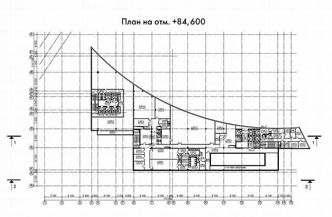 План на отм. 84.60