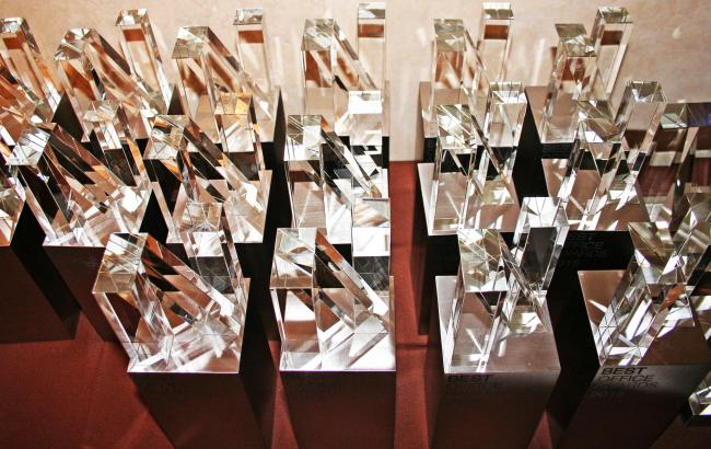 Церемония награждения Best Office Awards 2015. Фотография Татьяны Пашинцевой