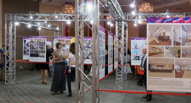 Выставка проектов Best Office Awards 2015. Фотография Татьяны Пашинцевой